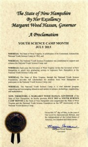 Proclamation - New Hampshire